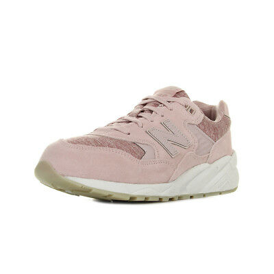 CHAUSSURES BASKETS NEW Balance femme WL697 CD taille Beige Cuir Lacets