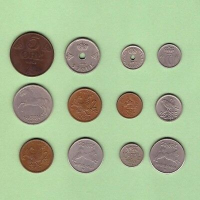 Norway (1937-1968) - Coin Collection - Lot # X-94 - World/Foreign/Europe