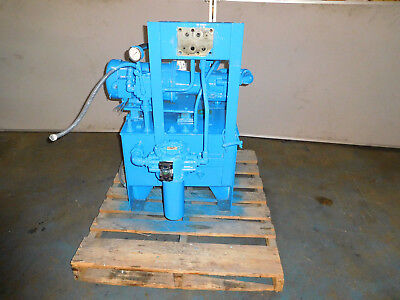 Parker PAVC33R2H22 Hydraulic Power Unit 5 HP 15GPM