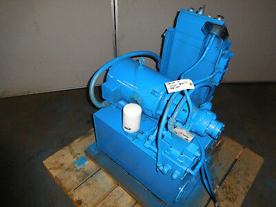 Double A H8P10B1 Hydraulic Power Unit 10 HP 10GPM