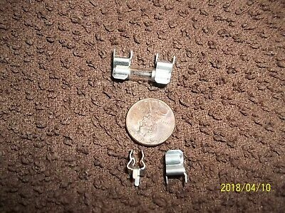 1- LOT 100 FUSE HOLDER CLIPS FOR PC MOUNT GMA 5X20 mm