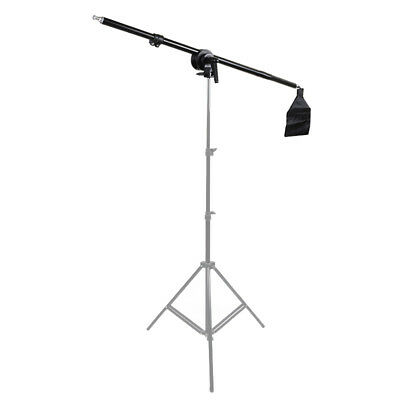 Phototography Studio Light Lighting Stand Prop Telescopic Boom Arm + Sandbag【AU】
