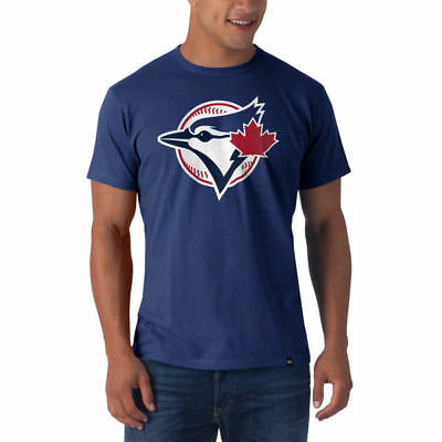 MLB Baseball Toronto Blue Jays T-Shirt Frozen Rope Logo 47Brand
