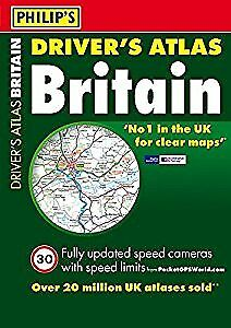 Philips Drivers Atlas Britain 2012: Paperback A4 (Road Atlas), Philips, Used; Go