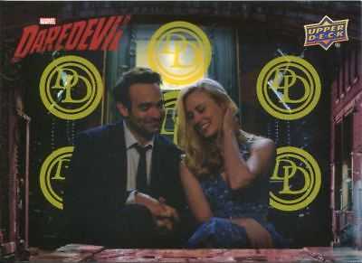Daredevil Seasons 1 & 2 Yellow [99] Base Card #75 A Night Off