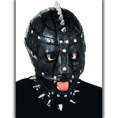 Halloween Maschera lattice con borchie TERRIFICANTE HORROR di pelle