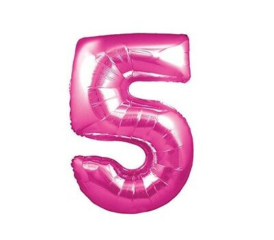 Party Supplies NUM3PINK Giant Pink Number /'3/' Balloon Decoration