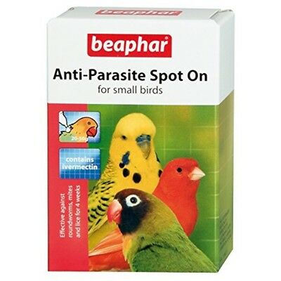 Beaphar Small Bird Anti-parasite Spot-on - Antiparasite Spoton Birds Wormer