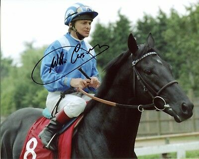 Willie Carson SIGNED AUTOGRAPH Jockey AFTAL UACC RD