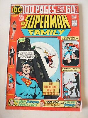 Jimmy Olsen Presents The Superman Family Issue # 166. Sep 1974. Dc 100 Page. Vf-