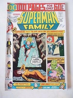 Jimmy Olsen Presents The Superman Family Issue # 168. Jan 1975. Dc 100 Page. Fin