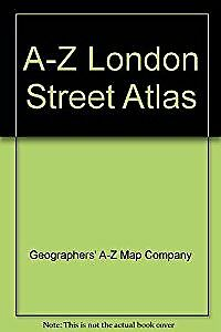 A-Z London Street Atlas, Geographers' A-Z Map Company, Used; Acceptable Book