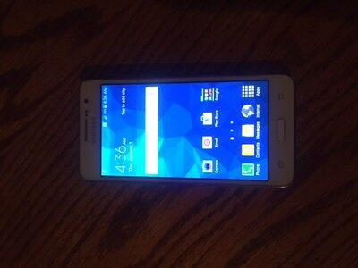 Samsung Galaxy Grand Prime Good ESN Carrier Cricket White NO REFUNDS