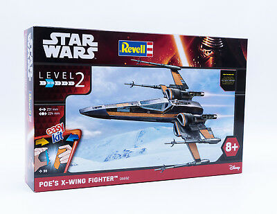 Revell 06692 Poe's X-Wing Fighter STAR WARS Raumschiff Bausatz Maßstab 1:50