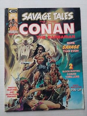 Savage Tales Featuring Conan #4 (1974), FN+ Shape, Marvel Comics, Free Shipping!