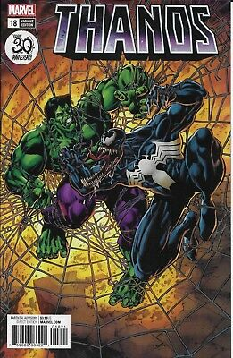 Marvel Thanos comic issue 18 Limited Venomized variant