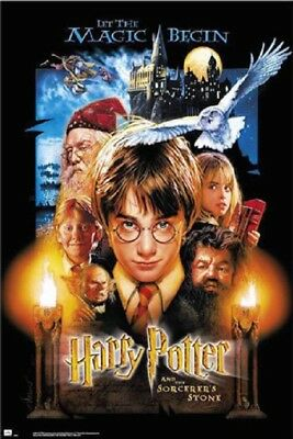 Harry Potter And The Sorcerer's Stone - Movie Poster (US Regular Style) 24x36