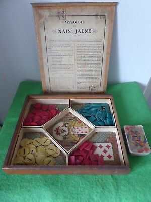 jeu ancien nain jaune polichinelle avec 35 cartes eur 8 00 picclick fr. Black Bedroom Furniture Sets. Home Design Ideas