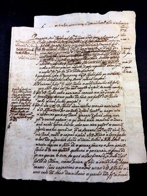 MATRIMONY CONTRACT IN LATIN 1500s                        6 pages