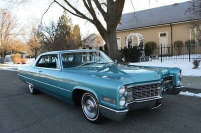 Cadillac DeVille  BEAUTIFUL VERY RARE 1966 CADILLAC COUPE DEVILLE