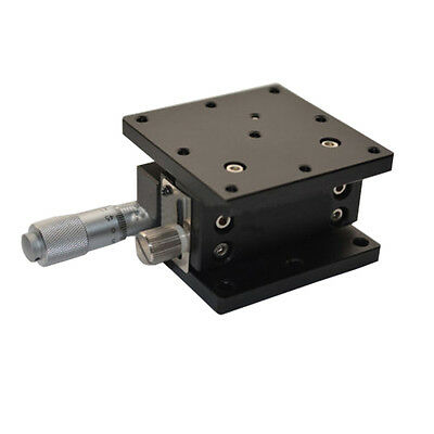 Z-Axis Trimming Platform Manual Linear Stage Bearing Tuning Sliding table 60mm