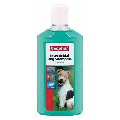 Beaphar Insecticidal Dog Shampoo (250ml) - 250ml Kills Coat