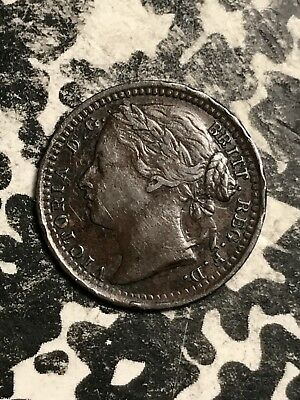 1868 Great Britain 1/3 Farthing Lot#X5419 Low Mintage!