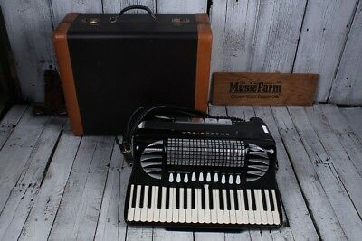 Excelsiola by Excelsior Model 720 Accordion 41 Keys 120 Bass with Case & Books