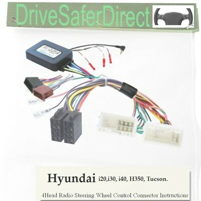 SWC-2978-01J Steering Wheel Control, ISO-JOIN for Xtrons Stereo/Hyundai i20 15-