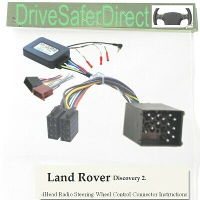 SWC-4490-01J Stalk Adaptor,ISO-JOIN for Chinese Radio/Land Rover Discovery 2 -04