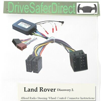 SWC-4491-01J Steering Adaptor, ISO-JOIN for Chinese Radio/Land Rover Discovery 2