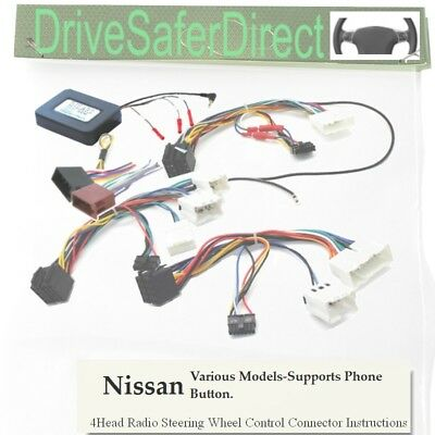 SWC-5239-07J Steering Wheel Control, ISO-JOIN for Xtrons Stereo/Nissan Navara