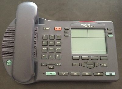 Nortel i2004 VOIP Digital Display IP Phone NTDU82 Refurbished 1Yr Warranty