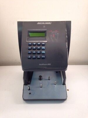 SCHLAGE Hand Punch 2000, Biometric Time Clock