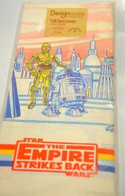 """Star Wars -The Empire Strikes Back - Paper Table Cloth 60"""" x 96"""""""