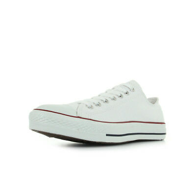 ecfc334af7ec3 Chaussures Baskets Converse homme All-star ox taille Blanc Blanche Textile