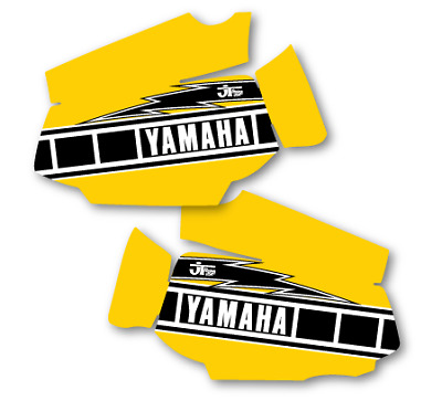 1980 1981 Yamaha YZ 125 Bob Hannah Replica Full Cover Tank Decals Graphics Evo M