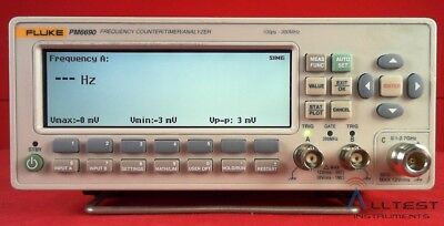 Fluke PM6690 Frequency Counter/Timer/Analyser 100ps - 300MHz