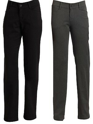 Lee Jeans Women's Pants Relaxed Fit Plain Front Straight Leg Pant NEW