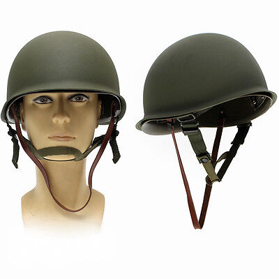 WW2 USA Military M1 CS Helmet  Soldier WWII Liner Army Equipment Outdoor Gift US