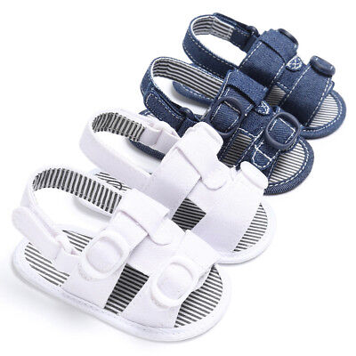2018 Summer Sandals Baby Boys Girls Infant Crib Shoes Moccasins Shoes Sandals
