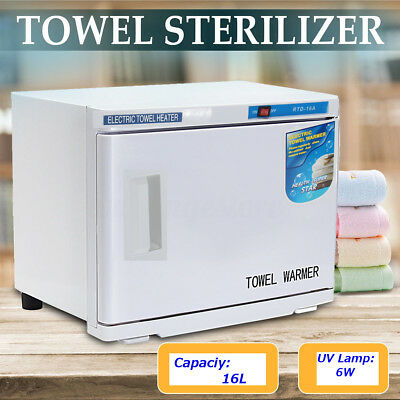 16L UV Towel Tool Sterilizer Warmer Cabinet Disinfection Salon Beauty FAST POST