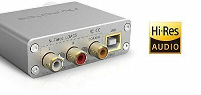 Optoma NuForce High-Resolution Mobile DAC/Amplifier - Silver (UDAC5)