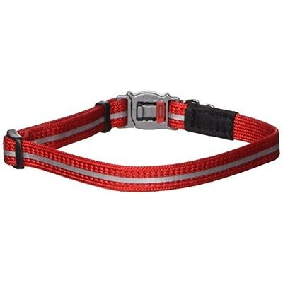 Rogz Reflective Nylon Cat Collar With Breakaway Clip And Removable Bell, Fully