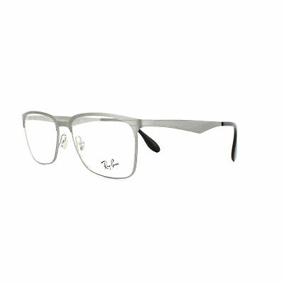 f05dc95366 RAY-BAN GLASSES FRAMES 6344 2553 Brushed Gunmetal 56mm Mens ...