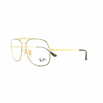 62d927a05e8 RAY-BAN GLASSES FRAMES 6389 The General 2945 Tortoise Gold 55mm Mens -   108.00