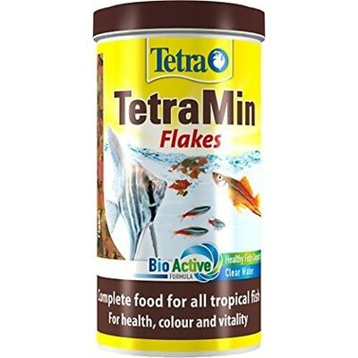Tetra Tetramin Tropical Flakes, Complete Food For All Tropical Fish With Clean
