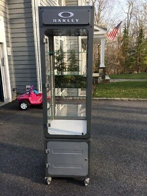 Deluxe  Oakley sunglasses Display Case stand  With Drawers And Wheels