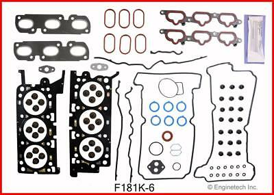 Full Gasket Set   EngineTech  F181K-6   Ford   3.0L  Duratec   2003