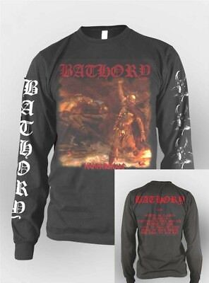 BATHORY - Hammerheart - Long Sleeve T SHIRT S-2XL New Official Kings Road Merch